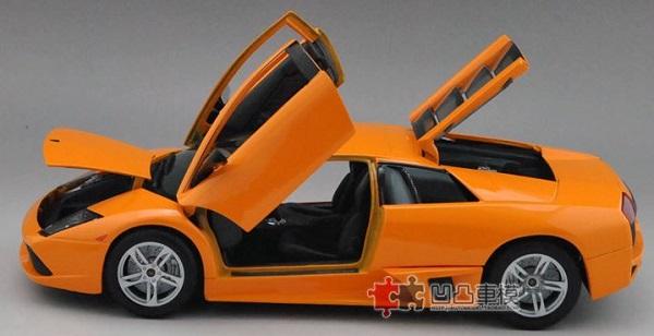 โมเดลรถ โมเดลรถเหล็ก โมเดลรถยนต์ Lamborghini LP640 orange 6