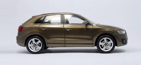 โมเดลรถ โมเดลรถเหล็ก โมเดลรถยนต์ Audi Q3 brown 3