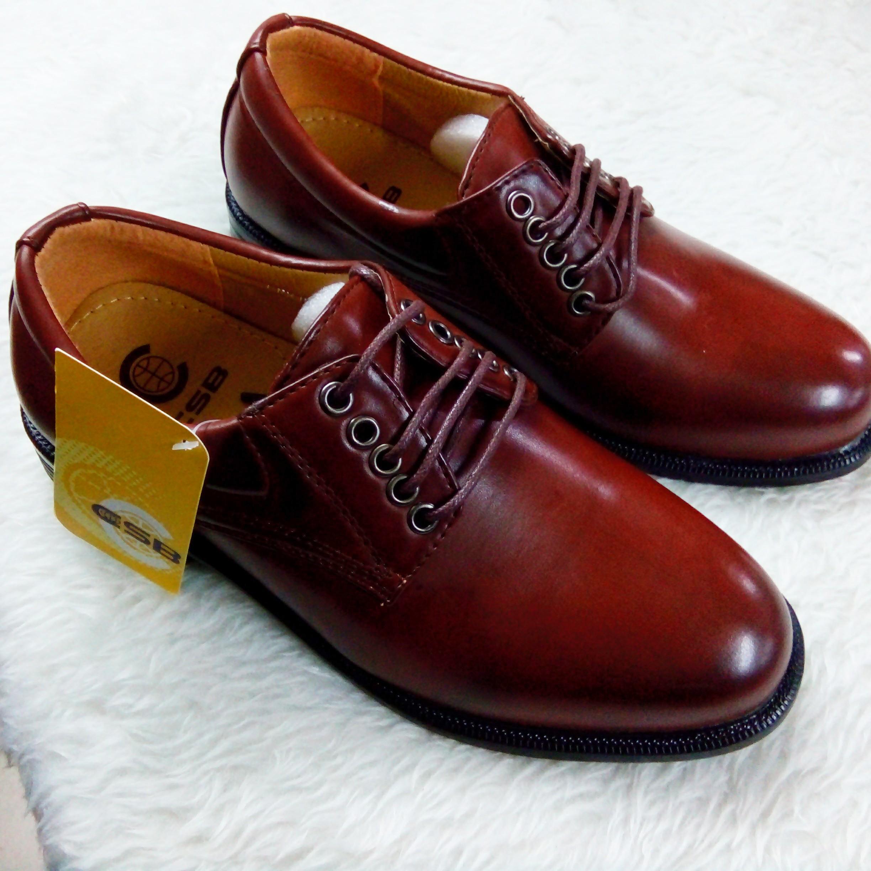 รองเท้าผู้ชาย หนังสีน้ำตาล เบอร์ 36-45