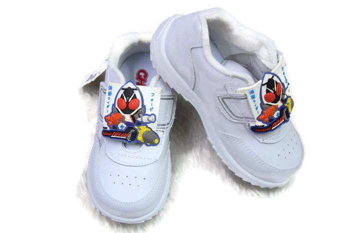 รองเท้าพละเด็กอนุบาลชาย สีขาว โฟร์เซ แบรนด์ Chappy