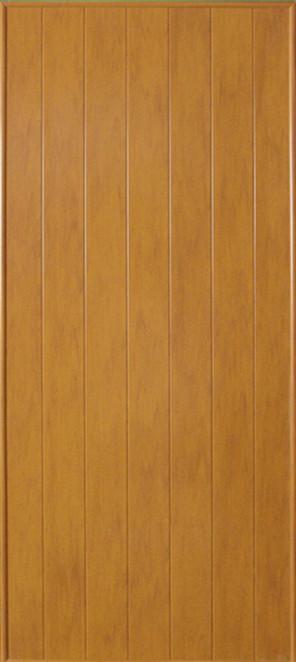 ประตูพีวีซี CHAMP P1 ลายไม้ 70x200