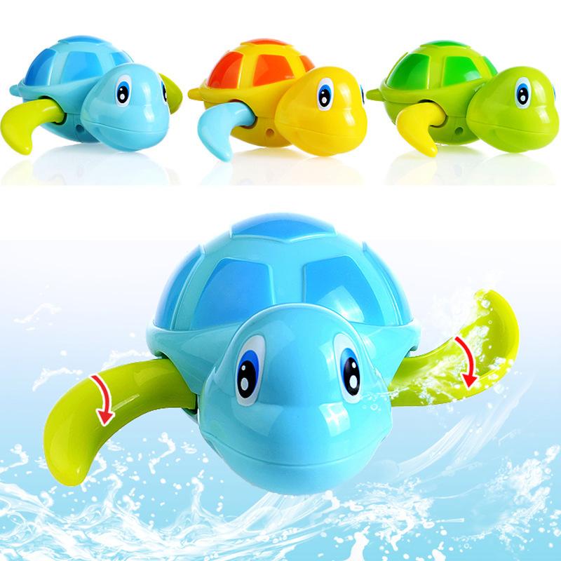 ของเล่นลอยน้ำ เต่าน้อยว่ายน้ำ ไขลาน Nana Baby