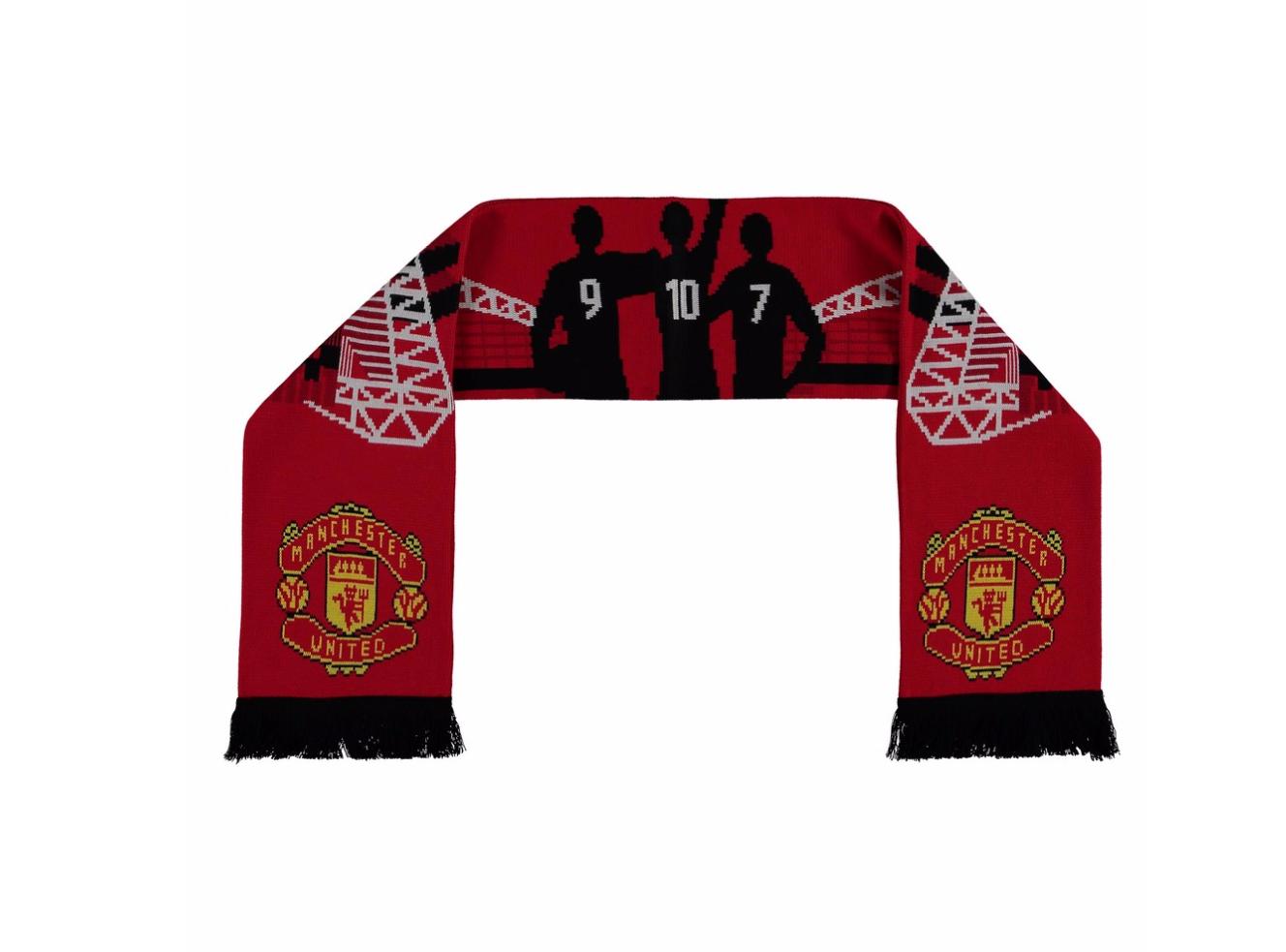 ผ้าพันคอแมนแมนเชสเตอร์ ยูไนเต็ด Stadium Scarf - Red ของแท้