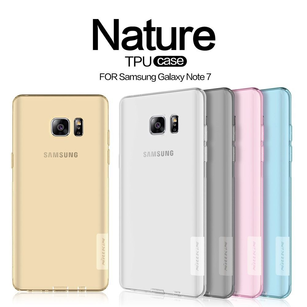 Nillkin Nature Slim Clear TPU Case Cover for Samsung Galaxy Note FE