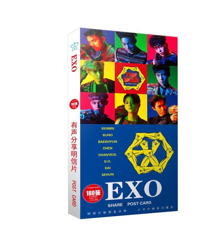 โปสการ์ด EXO เลือกแบบได้