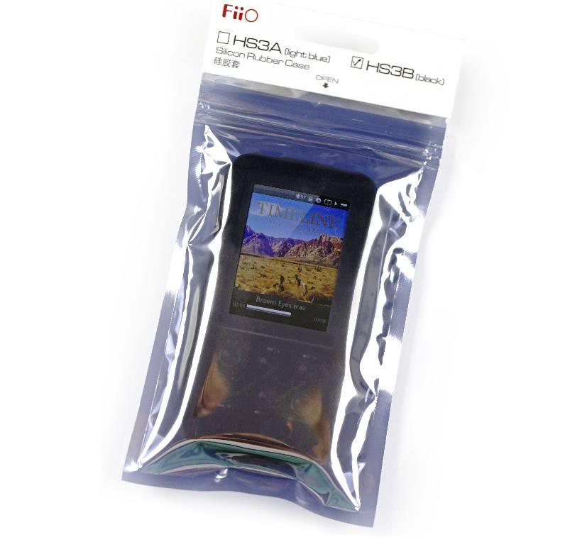 ขาย FiiO HS3A ซิลิโคนกันกระแทกสำหรับ FiiO X3 เท่านั้น[สีฟ้า- Light Blue]