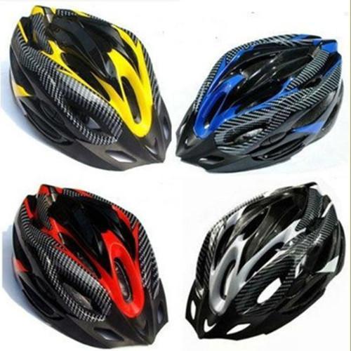 หมวกกันน็อคจักรยาน ลายคาร์บอน