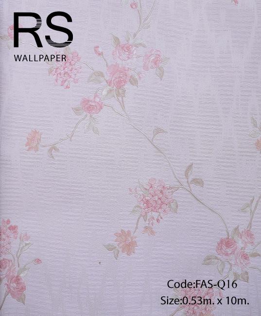 วอลเปเปอร์ลายดอกไม้ FAS-Q16