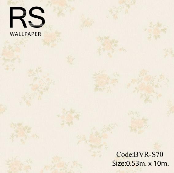 วอลเปเปอร์ลายดอกไม้ BVR-S70