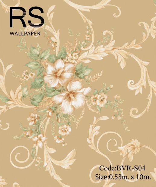วอลเปเปอร์ลายดอกไม้ BVR-S04