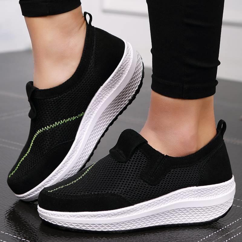 รองเท้าผ้าใบแฟชั่นเพื่อสุขภาพ