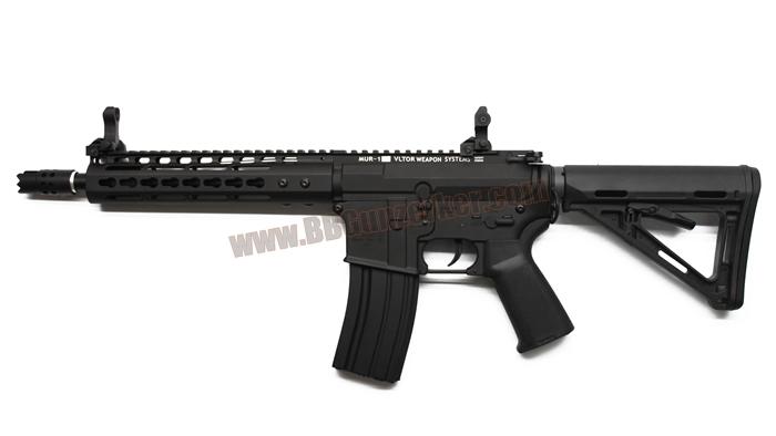 E&C 804S : M4 Noveske NSR-9 with MUR-1 บอดี้เหล็ก JR.Custom Gen 2