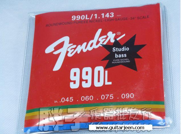 สายเบส fender ชุด4สาย 990L