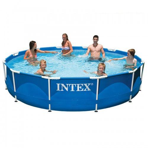 Intex สระเมทัลเฟรม 12 ฟุต (366 X 76 ซม.)