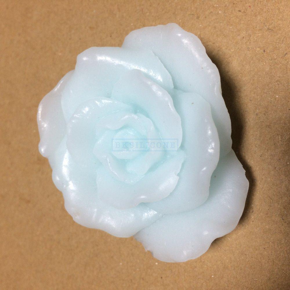 โมล พิมพ์ซิลิโคน พิมพ์วุ้น รูปดอกกุหลาบ