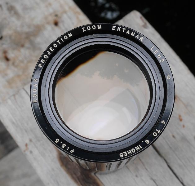 "Kodak Projection zoom lens 4"" to 6"" F3.5"