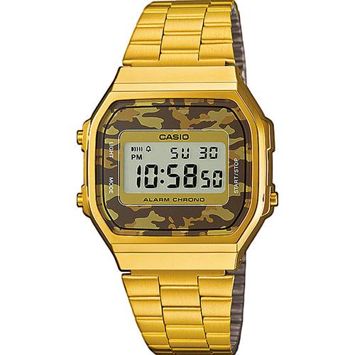 นาฬิกาข้อมือผู้หญิงCasioของแท้ A168WEGC-5