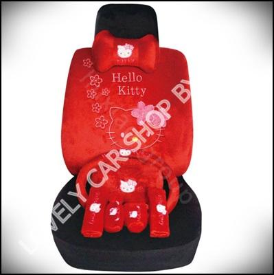 ชุดหุ้มเบาะลาย Hello Kitty 2 TONE