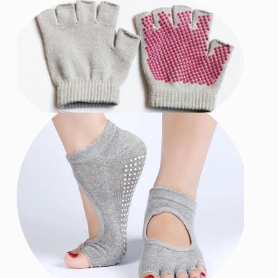 (พรีออเดอร์) ถุงมือ ถุงเท้าโยคะ กันลื่น YKSM30-41