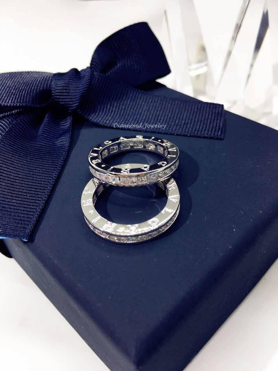 พร้อมส่ง Bvlgari Ring แหวน Bvlgari งานเกรดไฮเอน