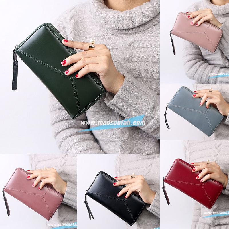 กระเป๋าสตางค์ Piece V.Long Wallet [แบบซิปรอบ]