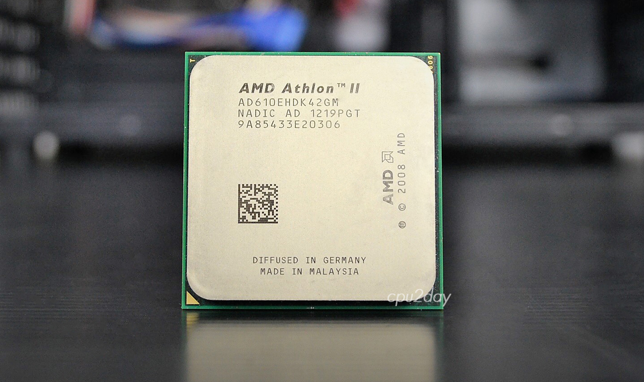[AM3] Athlon II X4 610E 2.4Ghz