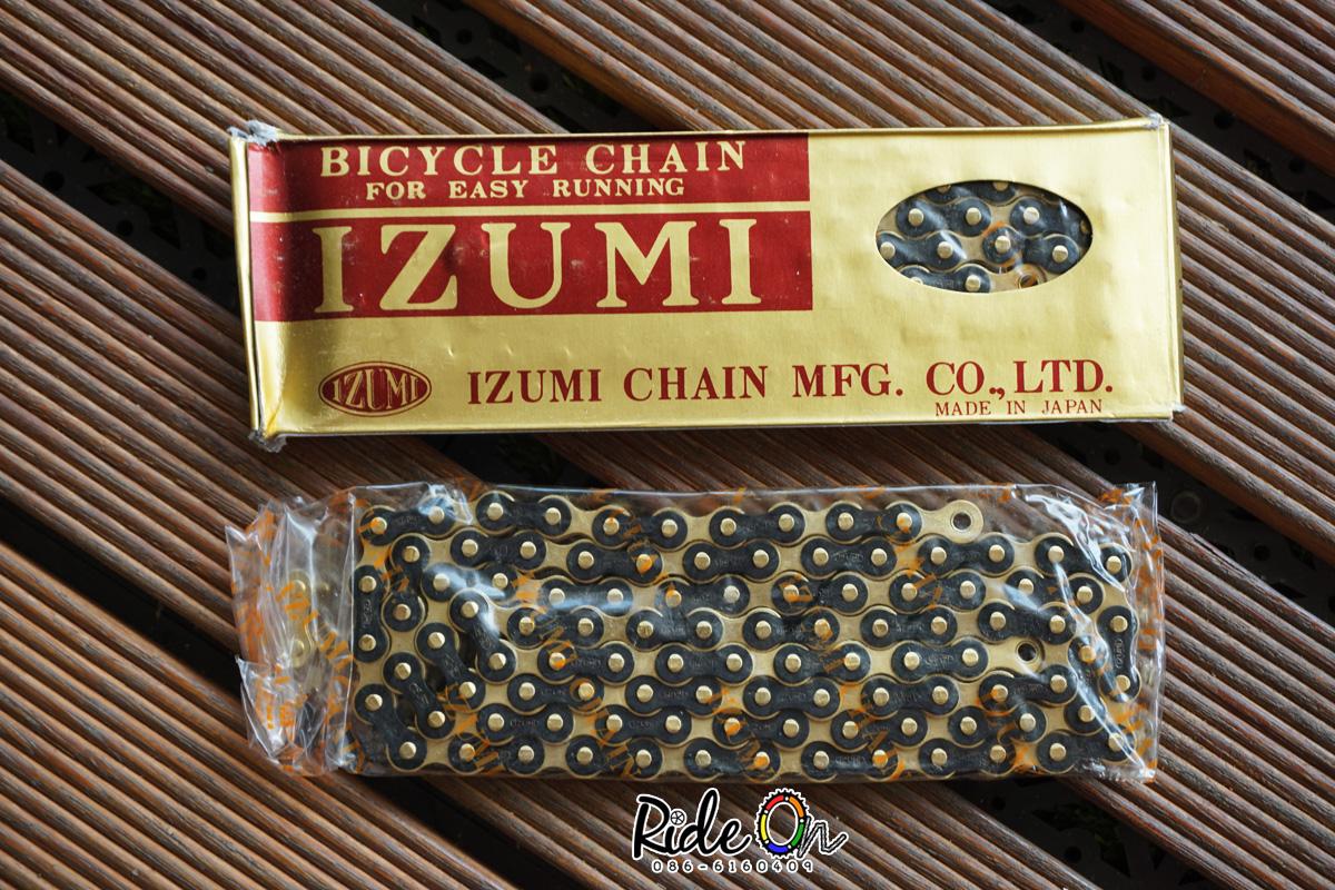 โซ่ IZUMI - สีดำทอง