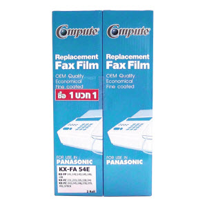 FAX FILM COMPUTE for Panasonic KA-FA 54E (แถม 1 ม้วน)