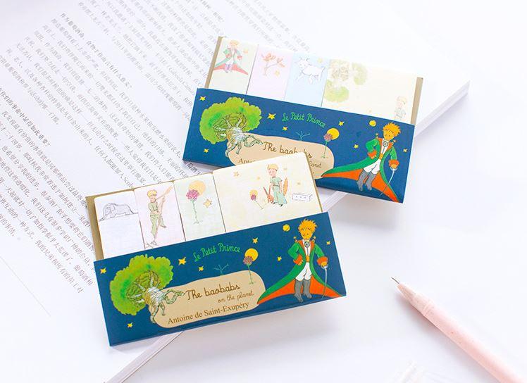 (มี 2 ลายให้เลือก) Index & Memo Le Petit Prince