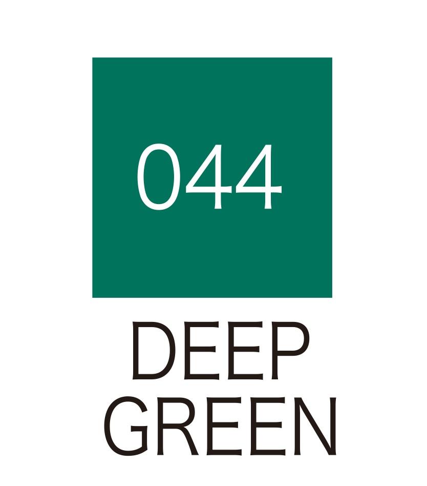 ปากกาสี 2 หัว ZIG CLEAN COLOR No.044 - Deep Green