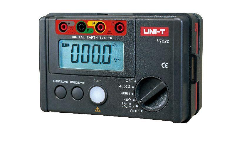 เครื่องทดสอบความเป็นฉนวน (Digital Insulation / Continuity Tester) รุ่น UNI-T UT-522
