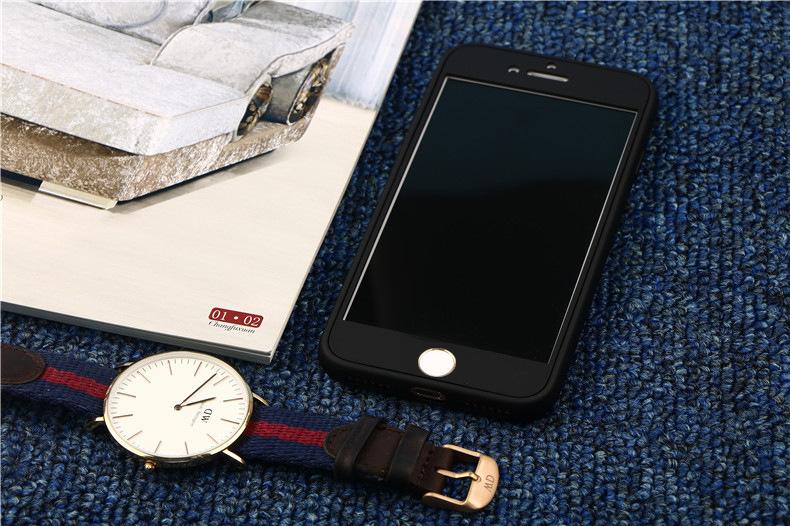 เคสประกบหน้าแข็ง หลังนิ่ม ดำ iPhone 6 Plus/ 6S Plus