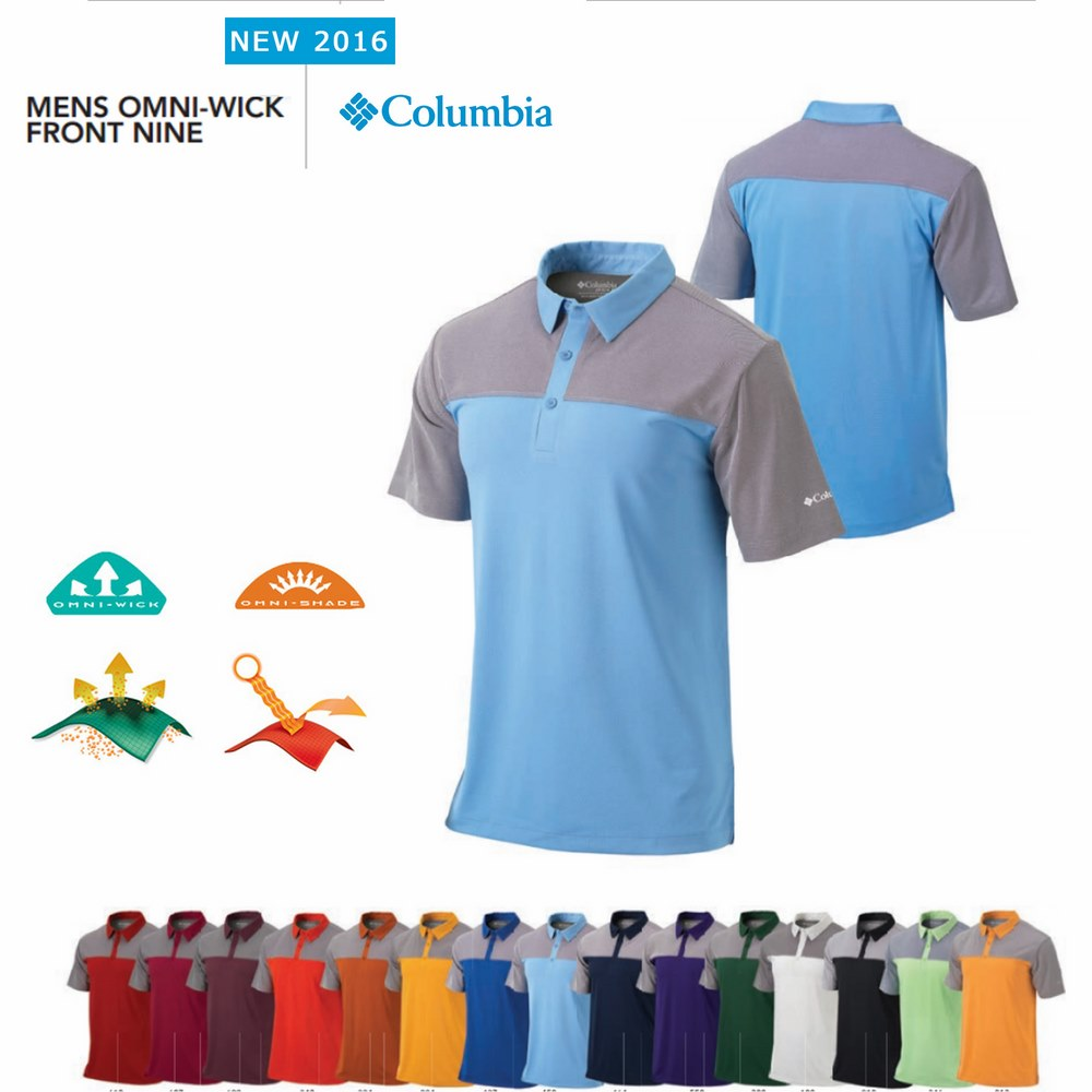 Columbia Front Nine Polo
