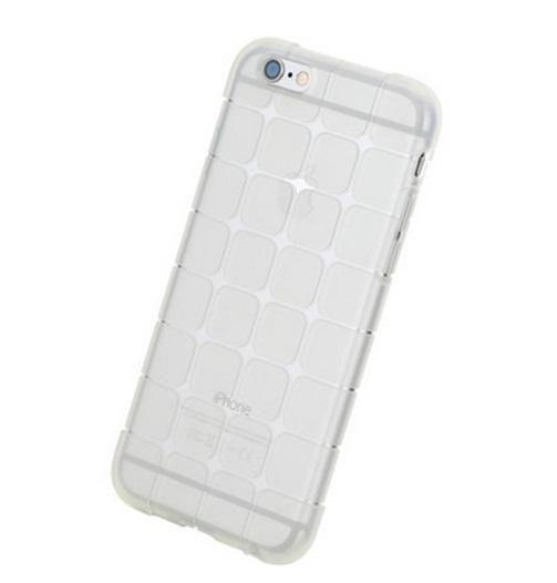 ROCK เคส IPhone 6 ซิลิโคน TPU สีขาวใส ลายตาราง นิ่มมือ สวยหรู ส่งฟรี