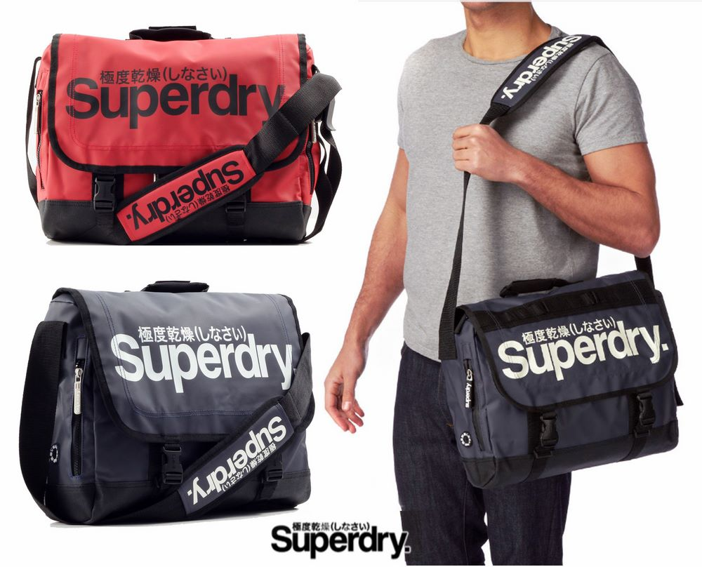 Superdry Tarpaulin Massenger Bag