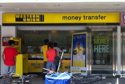 Diamond Nano Lift Money Transfer by Western Union branch