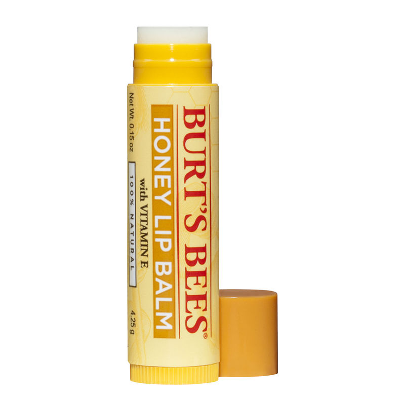 Burt's Bees , honey lip balm