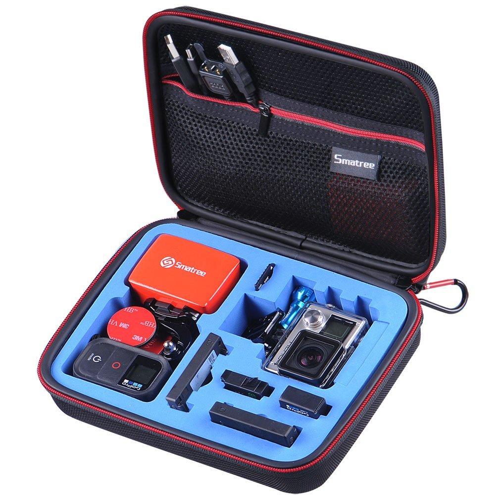 G160S-BK-BL SmaCase G160S รุ่นใหม่ EVA foam สีดำ-น้ำเงิน สำหรับใส่กล้อง GoPro Hero4,Hero3+,Hero3,Hero2
