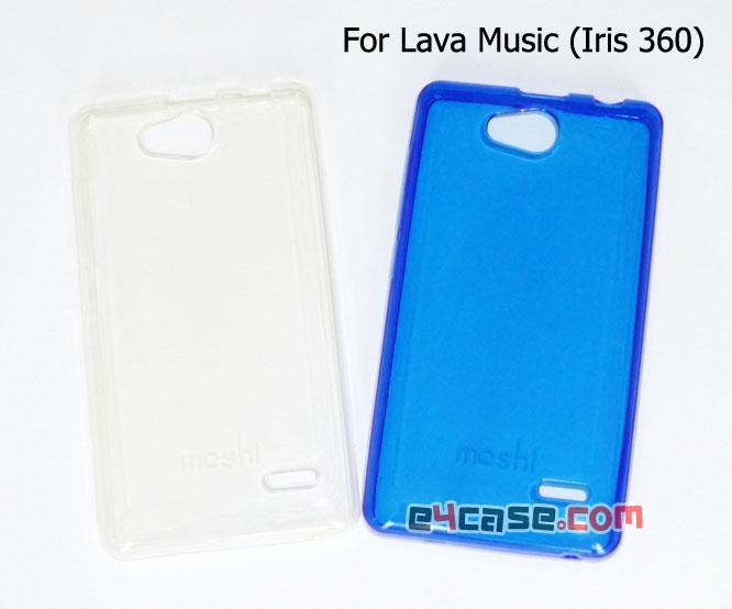 เคส Lava Music 3.5 (Iris 360) - เคสยางเนื้อใส