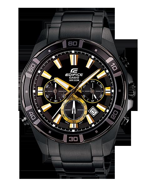 นาฬิกา คาสิโอ Casio Edifice Chronograph รุ่น EFR-534BK-1AV สินค้าใหม่ ของแท้ ราคาถูก พร้อมใบรับประกัน