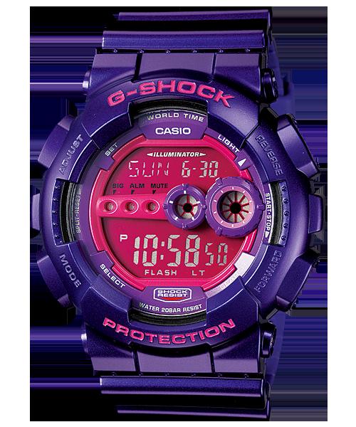 นาฬิกา คาสิโอ Casio G-Shock Standard Digital รุ่น GD-100SC-6DR สินค้าใหม่ ของแท้ ราคาถูก พร้อมใบรับประกัน