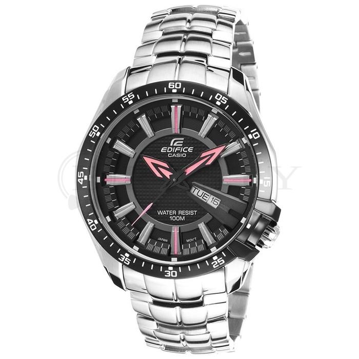 นาฬิกา คาสิโอ Casio Edifice 3-Hand Analog รุ่น EF-130D-1A4V สินค้าใหม่ ของแท้ ราคาถูก พร้อมใบรับประกัน