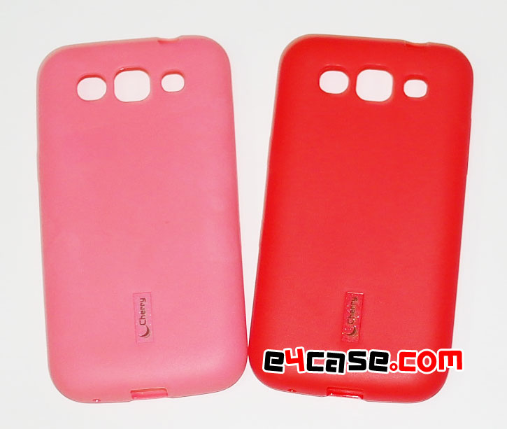 เคส Galaxy Win (Samsung i8552) - Cherry เคสยางผิวด้าน