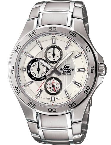 นาฬิกา คาสิโอ Casio Edifice Multi-hand รุ่น EF-335D-7AV สินค้าใหม่ ของแท้ ราคาถูก พร้อมใบรับประกัน