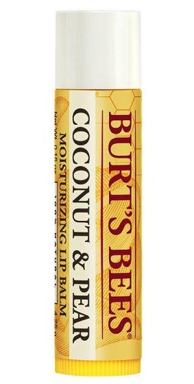 BURT'S BEES :: Burt's bee Hydrating Lip Balm with Coconut & Pear ลิปมอยเจอร์ไรเซอร์บำรุงริมฝีปาก สูตรน้ำมันมะพร้าวและลูกแพร์ ให้ความชุ่มชื่น ริมฝีปากนุ่มขึ้น