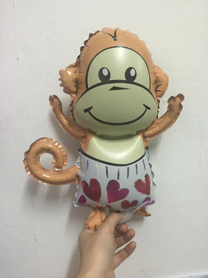 ลูกโป่งลิงน่ารัก