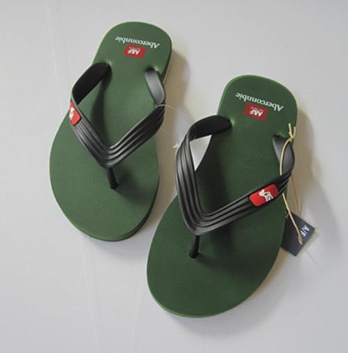 รองเท้าแตะ ผู้ชาย Abercrombie & Fitch สีเขียวเข้ม ไซส์ 41 - 43