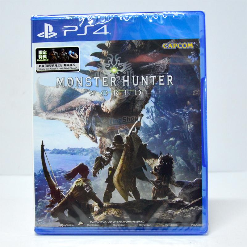 PS4™ Monster Hunter World zone3Asia Eng (Best Seller) Free ems
