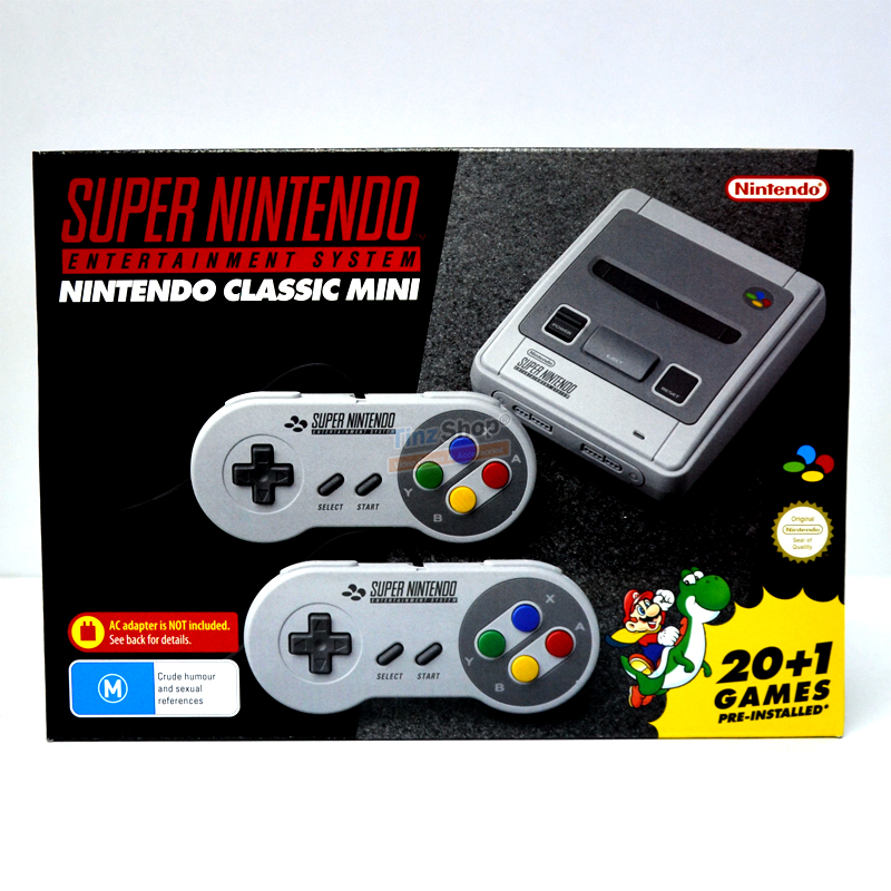Nintendo Classic Mini: SNES (EU) Super Nintendo Entertainment System ชุดละ 5990฿ ส่งฟรี!