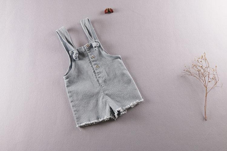 ชุดเอื้ยมยีนส์เด็กผู้หญิง 5 ชุด (ไซส์ 85/90/95/104/110)